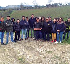 Escola profissional agrícola Fernando Barros Leal visita rede de monitorização Metarex